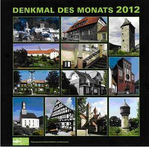 Kalender Denkmal des Monats 2012