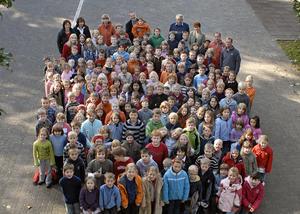 Schüler der Grundschule Schüllar-Wemlighausen