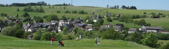 Blick auf Sassenhausen