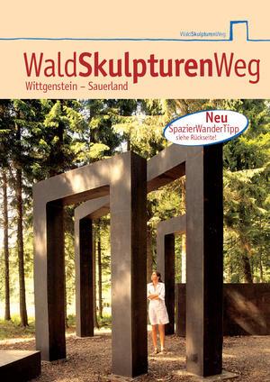 Externer Link: Titel Broschüre WaldSkulpturenWeg