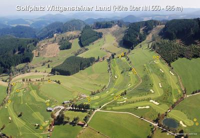 Luftbild Golfplatz