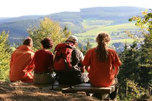 Hiking on the Wonderwold Rothaarsteig