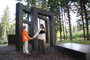 WaldSkulpturenWeg: Kein leichtes Spiel