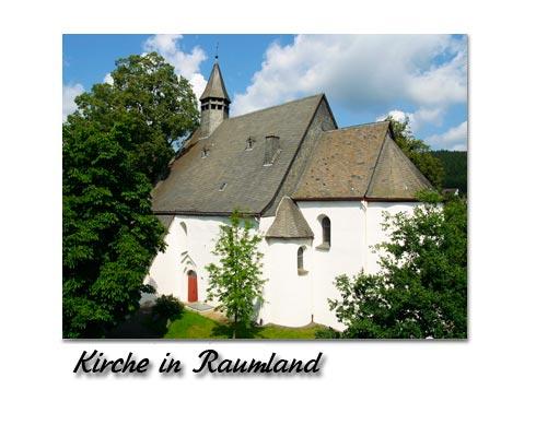 Kirche in Raumland