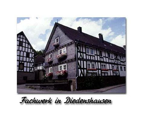 Fachwerkhaus Diedenshausen