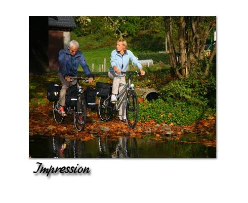 Impression Radfahren