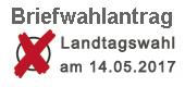 Externer Link: Briefwahlantrag - Landtagswahlen