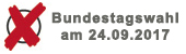 Bundestagswahl am 24.09.2017