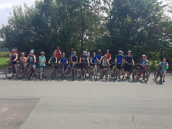 Ferienspiele 2019 Mountainbike-Tour