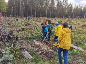 Kinderwald Stünzel in Aktion